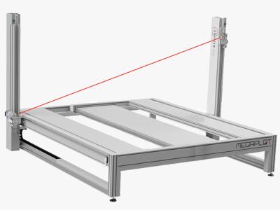 Machine de découpe du polystyrène avec un fil chaud