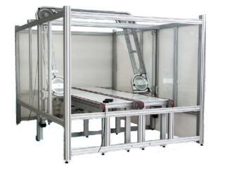 Machine de découpe à fil abrasif à haute vitesse