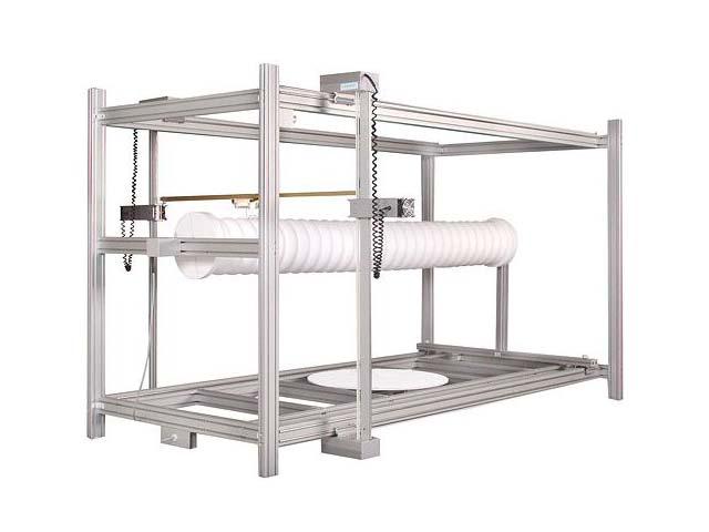 Exemple de machine de découpe gamme T