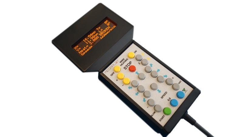 Option télécommande pour machine de découpe Megaplot