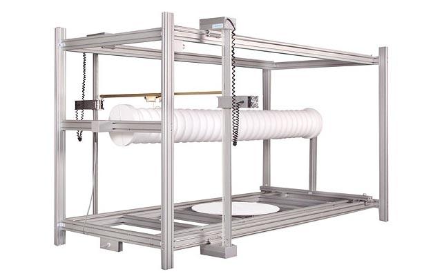 Option tour pour machine de découpe polystyrène